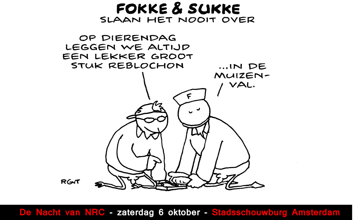 F&amp;S slaan dat nooit over #dierendag  (Next, do, 04-10-12)